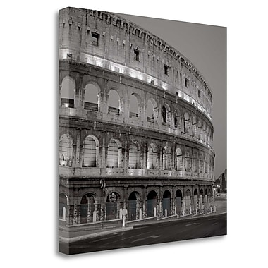 Tangletown Fine Art 'Coliseum Rome - 1' Photographic Print on Wrapped Canvas; 30'' H x 30'' W