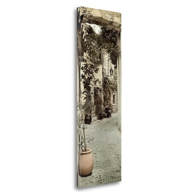 Tangletown Fine Art 'St Paolo - 1' Photographic Print on Wrapped Canvas; 48'' H x 16'' W