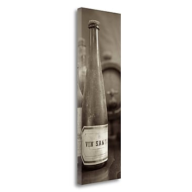Tangletown Fine Art 'Enoteca Cortona - 4' Photographic Print on Wrapped Canvas; 39'' H x 13'' W