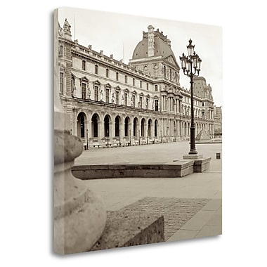 Tangletown Fine Art 'Paris - 9' Photographic Print on Wrapped Canvas; 30'' H x 30'' W
