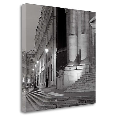 Tangletown Fine Art 'Paris - 3' Photographic Print on Wrapped Canvas; 35'' H x 35'' W