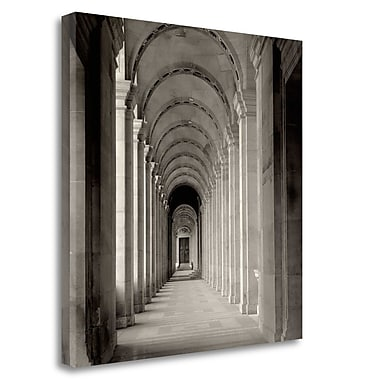 Tangletown Fine Art 'Paris - 27' Photographic Print on Wrapped Canvas; 30'' H x 30'' W