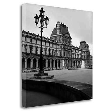 Tangletown Fine Art 'Paris - 19' Photographic Print on Wrapped Canvas; 35'' H x 35'' W