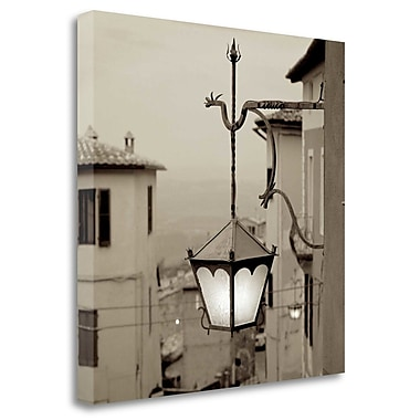 Tangletown Fine Art 'Tuscany - 10' Photographic Print on Wrapped Canvas; 25'' H x 25'' W
