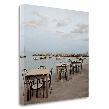 Tangletown Fine Art 'Atrani Caffe - 3' Photographic Print on Wrapped Canvas; 35'' H x 35'' W