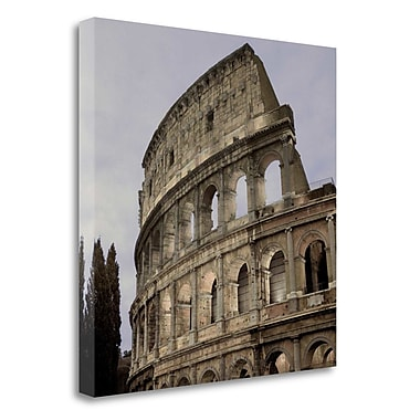 Tangletown Fine Art 'Coliseum Rome - 2' Photographic Print on Wrapped Canvas; 20'' H x 20'' W