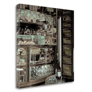 Tangletown Fine Art 'Veneto Caffe - 3' Photographic Print on Wrapped Canvas; 35'' H x 35'' W