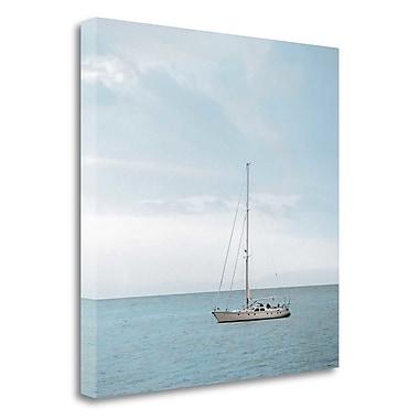 Tangletown Fine Art 'Lago Vista - 31' Photographic Print on Wrapped Canvas; 30'' H x 30'' W