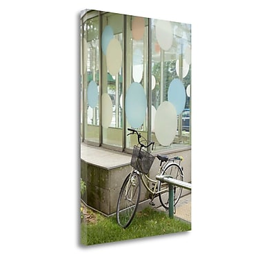 Tangletown Fine Art 'Japan Bicycle - 4' Photographic Print on Wrapped Canvas; 24'' H x 16'' W