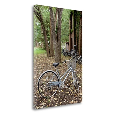 Tangletown Fine Art 'Japan Bicycle - 9' Photographic Print on Wrapped Canvas; 24'' H x 16'' W