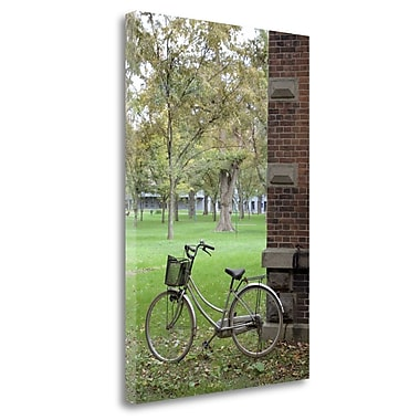 Tangletown Fine Art 'Japan Bicycle - 13' Photographic Print on Wrapped Canvas; 40'' H x 26'' W