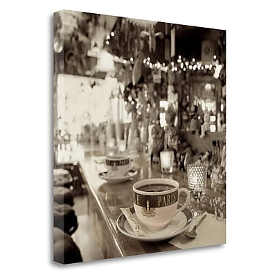 Tangletown Fine Art 'Nagano Cafe - 1' Photographic Print on Wrapped Canvas; 25'' H x 25'' W