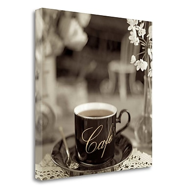 Tangletown Fine Art 'Nagano Cafe - 2' Photographic Print on Wrapped Canvas; 30'' H x 30'' W