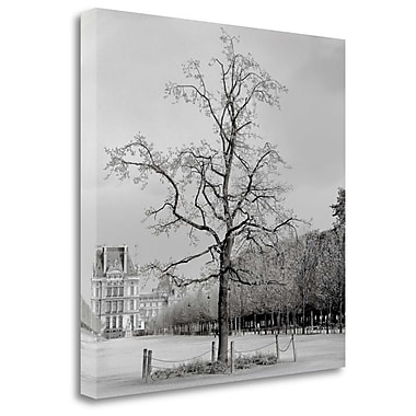 Tangletown Fine Art 'Paris - 22' Photographic Print on Wrapped Canvas; 30'' H x 30'' W
