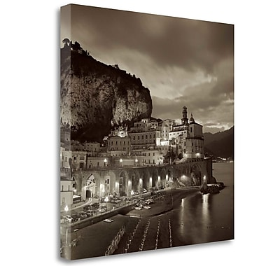 Tangletown Fine Art 'Atrani - 1' Graphic Art Print on Wrapped Canvas; 30'' H x 30'' W