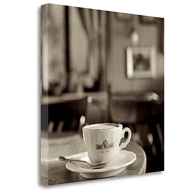 Tangletown Fine Art 'Tuscany Caffe - 4' Photographic Print on Wrapped Canvas; 35'' H x 35'' W