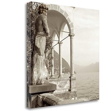Tangletown Fine Art 'Giardini Italiano - 4' Photographic Print on Wrapped Canvas; 30'' H x 30'' W