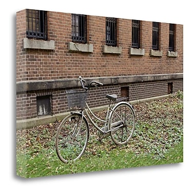 Tangletown Fine Art 'Japan Bicycle - 16' Photographic Print on Wrapped Canvas; 21'' H x 32'' W