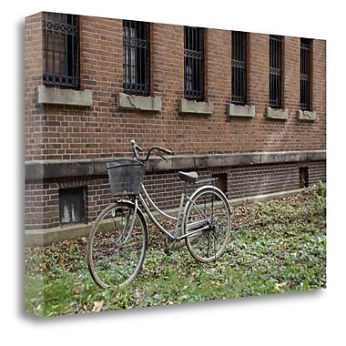 Tangletown Fine Art 'Japan Bicycle - 17' Photographic Print on Wrapped Canvas; 16'' H x 24'' W