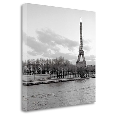 Tangletown Fine Art 'Tour Eiffel - 6' Photographic Print on Wrapped Canvas; 30'' H x 30'' W