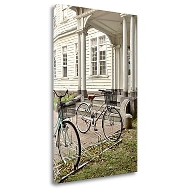 Tangletown Fine Art 'Japan Bicycle - 19' Photographic Print on Wrapped Canvas; 28'' H x 19'' W