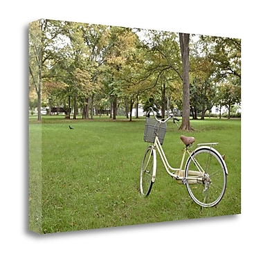 Tangletown Fine Art 'Japan Bicycle - 21' Photographic Print on Wrapped Canvas; 18'' H x 27'' W