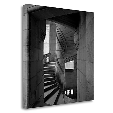 Tangletown Fine Art 'Chateau - 3' Photographic Print on Wrapped Canvas; 30'' H x 30'' W