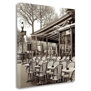 Tangletown Fine Art 'Paris - 5' Photographic Print on Wrapped Canvas; 35'' H x 35'' W