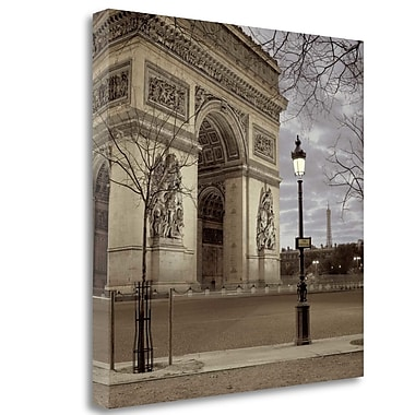 Tangletown Fine Art 'Paris - 16' Photographic Print on Wrapped Canvas; 35'' H x 35'' W