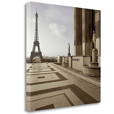 Tangletown Fine Art 'Tour Eiffel - 10' Photographic Print on Wrapped Canvas; 35'' H x 35'' W
