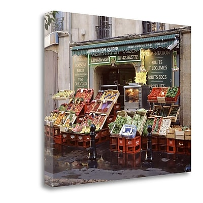 Tangletown Fine Art 'Marketplace - 42' Photographic Print on Wrapped Canvas; 28'' H x 35'' W