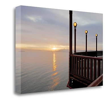 Tangletown Fine Art 'Golden Gate Bridge - 46' Photographic Print on Wrapped Canvas; 18'' H x 27'' W