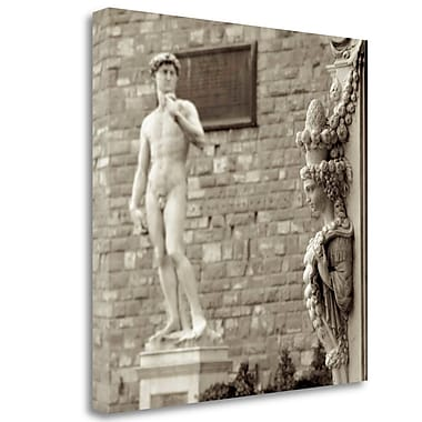 Tangletown Fine Art 'Firenze - 4' Graphic Art Print on Wrapped Canvas; 20'' H x 20'' W