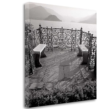 Tangletown Fine Art 'Lake Vista - 2' Photographic Print on Wrapped Canvas; 25'' H x 25'' W