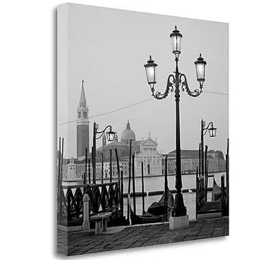 Tangletown Fine Art 'Venezia - 4' Photographic Print on Wrapped Canvas; 25'' H x 25'' W