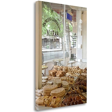 Tangletown Fine Art 'Mara s Pastry - 140' Photographic Print on Wrapped Canvas; 32'' H x 21'' W