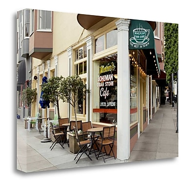 Tangletown Fine Art 'Mario Cigar Store - 136' Photographic Print on Wrapped Canvas; 19'' H x 28'' W