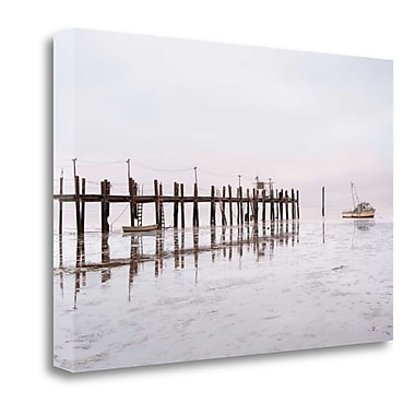 Tangletown Fine Art 'Antique Pier - 103' Photographic Print on Wrapped Canvas; 16'' H x 24'' W
