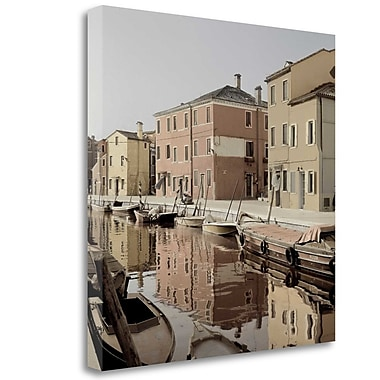 Tangletown Fine Art 'Bruano Canal - 1' Photographic Print on Wrapped Canvas; 30'' H x 30'' W