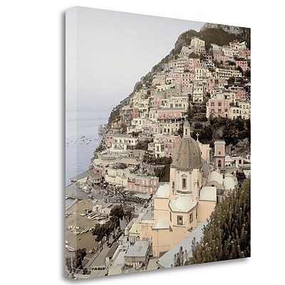 Tangletown Fine Art 'Positano - 2' Photographic Print on Wrapped Canvas; 20'' H x 20'' W