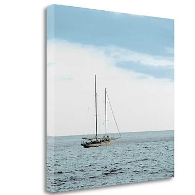 Tangletown Fine Art 'Lago Vista - 29' Photographic Print on Wrapped Canvas; 35'' H x 35'' W