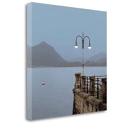 Tangletown Fine Art 'Lake Vista - 6' Photographic Print on Wrapped Canvas; 35'' H x 35'' W