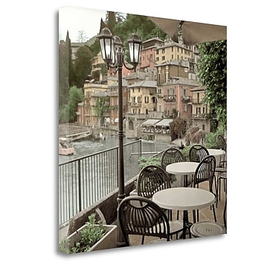 Tangletown Fine Art 'Porto Caffe - 27' Photographic Print on Wrapped Canvas; 35'' H x 35'' W