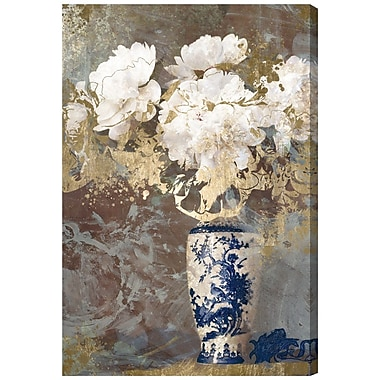Willa Arlo Interiors 'Eastern Floral' Painting Print on Wrapped Canvas; 60'' H x 40'' W x 2'' D