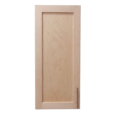WG Wood Products Cumberland 15.5'' x 35.5'' Recessed Medicine Cabinet; Unfinished