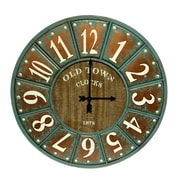 Gracie Oaks Oversized Calie 33.75'' Round Wall Clock