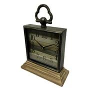 Union Rustic Mantel Tabletop Clock