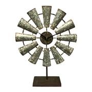 17 Stories Windmill Tabletop Clock