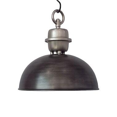 Williston Forge Chenai Industrial 1-Light Inverted Pendant
