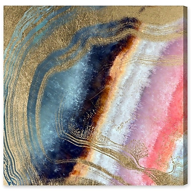 Willa Arlo Interiors 'Marianna' Graphic Art on Wrapped Canvas; 43'' H x 43'' W x 1.5'' D